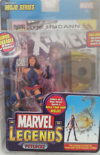 MARVEL Legends PSYLOCKE figure/X-MEN 258 comic book variant & trading card--MIB!