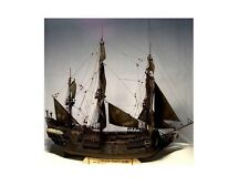 Wooden Ship Model Kits Train Hobby  Black Pearl Model Kit