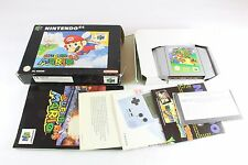 Nintendo N64 Super Mario Complete Boxed PAL UK