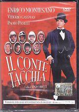Dvd **IL CONTE TACCHIA** con Enrico Montesano Vittorio Gassman nuovo 1982