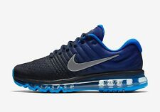 Men's Nike Air Max 2017 Running Shoes -Blue -Size 9 -849559 400  New