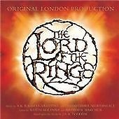Lord of the Rings Soundtrack CD + DVD Original London Production