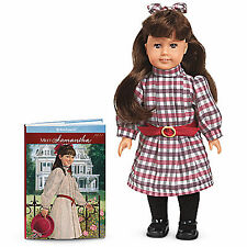 "American Girl SAMANTHA MINI DOLL 6""  + Book Historical Collectible Samantha's"