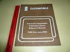 1980 - 1983 Oldsmobile Auto Transmission Reference Manual - THM 125/125C Others