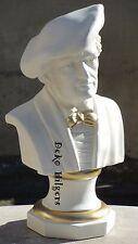 Wunderschöne Wagner Büste Kopf Dekoration Stuckgips Skulptur Möbel Deko Cre Gold