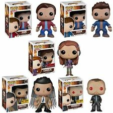 FUNKO POP TV SUPERNATURAL DEAN SAM CHARLIE HT CASTIEL HT & CROWLEY HT IN STOCK
