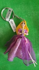 New Disney Parks Princess Tangled Rapunzel Figure Doll Keychain nwt