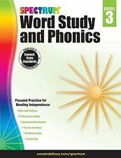 Spectrum: Spectrum Word Study and Phonics, Grade 3 (2014, Paperback)
