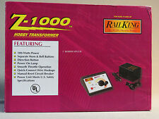 MTH Z-1000 TRANSFORMER w POWER BRICK train track power pack o gauge 40-1000 NEW