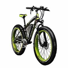 "RICH BIT 1000W*48V 17AH Fat Bicycle Bike 26"" Electric Ebike 4.0 Tire Cruiser"