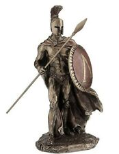 "11"" Leonidas w/ Spear Spartan King Statue Sculpture Figure Roman Figurine"