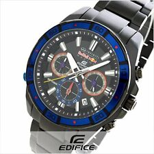 CASIO EDIFICE EFR534RBK-1A Red Blue Black Ion Plated Illuminator Limited