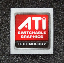 ATI Switchable Graphics Technology Sticker 15.5 x 15.5mm Case Badge