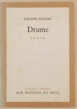 PHILIPPE SOLLERS DRAME COLLECTION TEL QUEL en Francaise