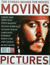 MOVING PICTURES - JOHNNY DEPP - BEATLE JOHN LENNON - JAMES BOND + SUPERMAN