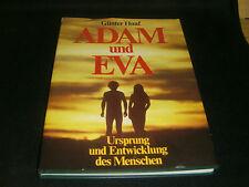Günter Haaf Adam  und Eva  Ursprung und Entwicklung des Menschen