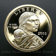 2003-S Sacagawea Dollar - Gem Proof Deep Cameo U.S. Coin