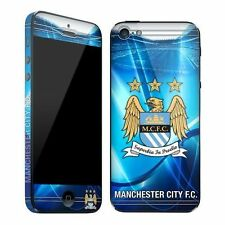 MANCHESTER CITY FC Apple Iphone 5 AntiScratch MCFC SKIN OFFICIAL LICENSED
