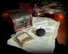 Yule Incense Blessing Ritual with cute Chest  Wiccan Pagan Witch Gift