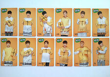 EXO K M SUNNY10 EVENT OFFICIAL PHOTO CARD/ C Version - Full set (12 members)