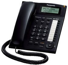 PANASONIC KX-TS880B corded speaker phone, Caller ID - Black