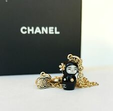 AUTH CHANEL PARIS-SHANGHAI DOLL NECKLACE ULTRA RARE COLLECTIBLE LIMITED pearls