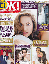 OK! [UK magazine], May 28 2013, Special Bumper Issue, Angelina, Jessica Ennis