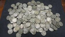 Lot of 120 Three Rolls 35% Silver War Nickels 1942-1945 Bullion US Coins
