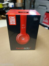 SEALED * Beats by Dr. Dre Solo2 Headband Headphones - Gloss Red MH8Y2AM/A B0518