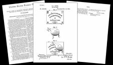 1891 Ouija Board PATENT Drawing Design Documents,Art PRINT,Board Game planchette