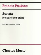 Francis Poulenc Sonata For Flute And Piano Learn to Play Classical Music Book