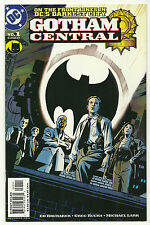 Gotham Central 2003 #1 Near Mint First Print Brubaker Rucka Batman