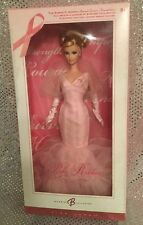 PINK RIBBON BARBIE DOLL BCA BREAST CANCER AWARENESS MATTEL J0932 MINT NRFB