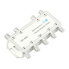 GST-8101 8 in 1 Satellite Signal DiSEqC Switch LNB Receiver Multiswitch #A