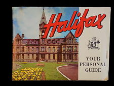HALIFAX NOVA SCOTIA Booklet map and picture vacation pamphlet for tourism