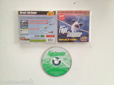 Microsoft Flight Simulator pour windows 1995 & 98 PC FR