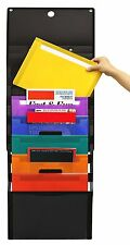 Wall Mount Home Office Document File Mail Folder Letter Organizer Storage Holder