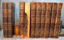 Ouvre Completes de Lamartine Vols 1-8 1836 Paris & Vol 2-3 Nouvelle Edition 1847
