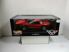 1/18 SCALE HOT WHEELS C5 RED CORVETTE