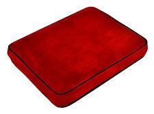 De terciopelo suave de espuma con memoria de contorno de coche, avión, Home viaje Almohada / Cojín-Rojo