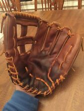 "Vintage Rawlings Pro Stock Model Leather Baseball Glove HFGH 13"" Reggie Jackson!"
