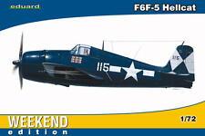 Eduard 7415 Grumman F6F-5 Hellcat 'Weekend Edition' 1/72 Scale Plastic Model Kit
