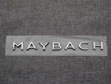 "Chrome "" MAYBACH "" Letters Trunk Badge Emblem Sticker for Mercedes Benz MAYBACH"