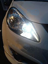 2x Bulbs T10 W5W LED Sidelights White XeNon Error Free For Clio mk2 2003-2009
