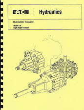 Eaton 778 Hydrostatic Transaxle Parts Manual