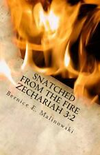 Snatched from the Fire Zechariah 3:2 by Bernice Malinowski (2013, Paperback)