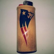 New England Patriots Bic Lighter Case Holder Sleeve Cover
