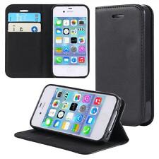 Apple iPhone 4 4S  Wallet Flip Case Cover Magnet Bag Bumper Sleeve Protect