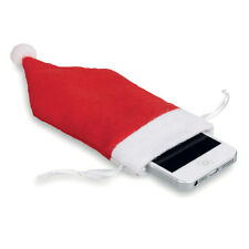 Santa Hat Phone Sock Christmas Stocking Filler Gifts Xmas Novelty Gadget Gift