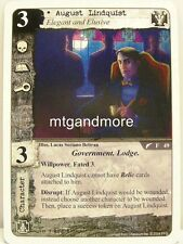 Call of Cthulhu LCG - 1x August Lindquist  #049 - For the Greater Good